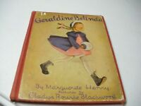 Geraldine Belinda by Margueritte Henry Pictures by Gladys Blackwood1942 First Ed