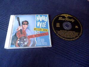 CD Howard White - Western Swing & Steel Instrumentals Bear Family Rose Atkins