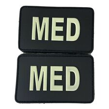IR Med Badges, Luminous Medical ID Patches (2-Pack), North American Rescue
