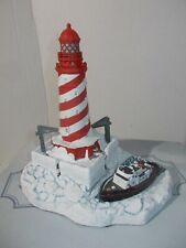 Harbour Lights Lighthouse White Shoal Michigan #704 Coa 1997 Signed