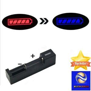 USB Charger For 10440 14500 18650 26650 3.7V-4.2V Rechargeable Li-Ion Battery UK
