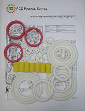 1991 Bally/Midway Bugs Bunny's Birthday Ball Rubber Ring Kit