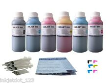 Refill ink kit for canon CLI-8 PIXMA iP6600D iP6700D 6x250ml+Plugs