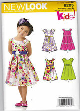 Simplicity 6205 Size a 345678 Childs Dress LOOK Sewing Pattern