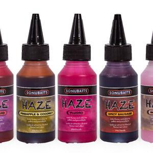 Sonubaits Haze Liquid Additive Glug Flavour & Colouring Carp Match Fishing Bait