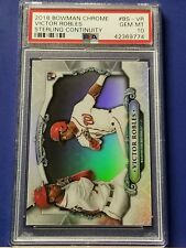 Victor Robles - 2018 Bowman Chrome Sterling Continuity   PSA 10