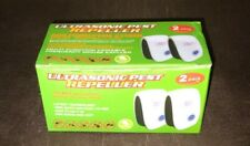 Pest Reject Ultrasonic Pest Repeller 2-Pack Indoor. Rodents, Mosquitos, Spiders