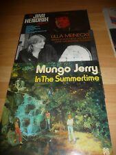 3 LP Sammlung Jimi Hendrix Ulla Meinecke Mungo Jerry