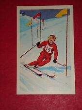 1961 WHEATIES GREAT MOMENTS IN CANADIAN SPORTS #21 ANN HEGGTVEIT'S MEDAL