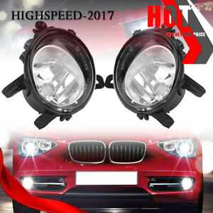 Pair For BMW 2 3 4-series 2.0/3.0L Driver+Passenger Side Fog Light Lamp Assembly