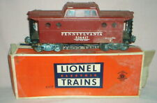 1950s Vintage - LIONEL - O Gauge - # 6417 Lighted PORTHOLE CABOOSE CAR with BOX