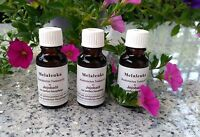 3 x 20 ml Melaleuka in Jojobaöl,  melaleuca alternifolia von Omega  Teebaumöl