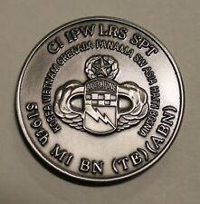 519th Military Intelligence Battalion Airborne Bosnia Army Challenge Coin