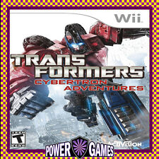 Transformers Cybertron Adventures (Nintendo Wii) Brand New