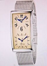VINTAGE NEW TISSOT HERITAGE DUAL TIME MEN'S WATCH SILVER Z182/282 IN PRESENT BOX