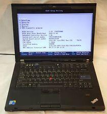 Lenovo ThinkPad R400 Laptop Intel 2.20GHz 2GB No Hard Drive No OS AS IS