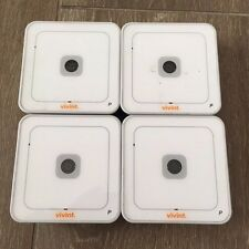 Lot of 4 Vivint ADC-V510 IP FIXED WIRELESS Video Camera Alarm.com! TESTED!