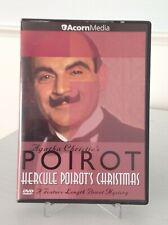 Agatha  Christie's Poirot: HERCULE POIROT'S CHRISTMAS (DVD, 2001) - VERY GOOD