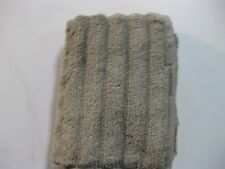 "NEW Turkish Ribbed Cotton 16"" x 28"" Hand Towel in Taupe"
