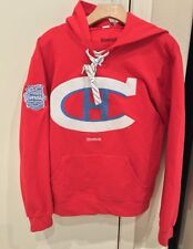 Reebok Montreal Canadiens Hoodie 2016 Hivernale Classique Mens Size Small