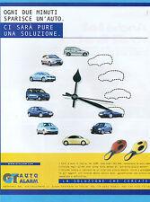 AUTO2000-PUBBLICITA'/ADVERTISING-2000- GT AUTO ALARM