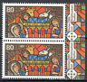 3495 postfrisch Paar senkrecht Rand rechts BRD Bund Deutschland Briefmarke 2019