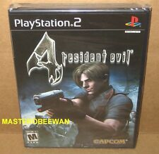 PS2 Resident Evil 4 Black Label New Sealed (Sony PlayStation 2, 2005)