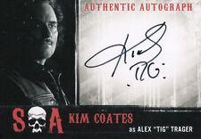 "Sons of Anarchy Seasons 6&7, Kim Coates 'Alex ""Tig"" Teller' Auto Card KC"