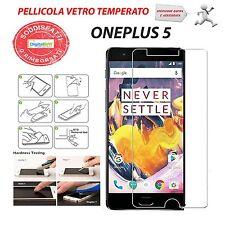 PELLICOLA PROTETTIVA DISPLAY SCHERMO GLASS VETRO TEMPERATO PER ONEPLUS 5