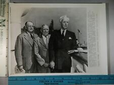 Rare Historical Original VTG 1943 GOP Chairman Harrison E Spangler Detroit Photo