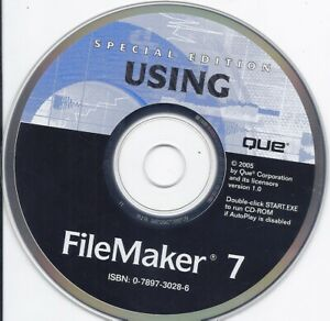 Special Edition Using FileMaker 7 CD
