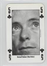 1991 New Music Express Playing Cards #5C Bernard Sumner Non-Sports Card 0w6