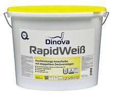 Dinova Rapidweiß 5 Liter weiß - Innenfarbe mit doppeltem Deckvermögen