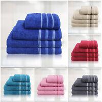 Premium Cotton Bathroom Towels Bale Gift Set Bath Hand Face Towel Jumbo Sheet