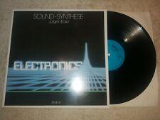 Jürgen Ecke - Sound Synthese    Vinyl  LP Amiga