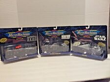 1993 Micro Machines Space Star Wars Collection #1,2 & 3