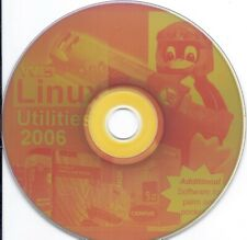 vintage Cd - Linux Utility 2006 Pc software Cd