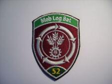 Schweizer Armee 21 Aufnäher  Mob Log Bat 52 ca 9 x7 cm
