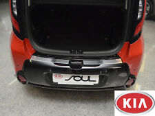 KIA SOUL 2013- PS Rear Bumper Profiled Protector Stainless Steel Scuff Cover