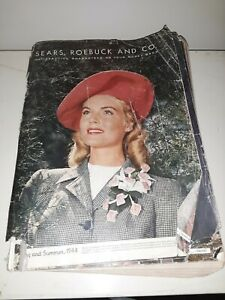 Antique Sears & Roebuck Catalog 1944 Spring & Summer