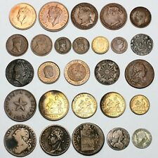 More details for 17th - 20th century various world coins