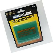 Chicago Electric Welding Systems Pack Of 5 Welding Lens Covers For Blue Flame