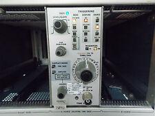 Tektronix 7b70 Time Base Plug In With Cal Sticker
