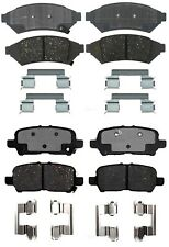 Front and Rear Ceramic Brake Pads Kit ACDelco for Pontiac Grand Prix 2004