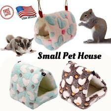 Hammock Nest Ferret Rabbit Guinea Pig Rat Hamster Mice Cute Bed House Toy Gift