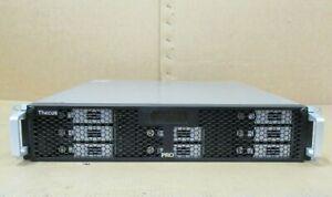 Thecus N8800PRO 10GbE Ready 2U Power Storage Server NAS Network Attached Storage