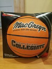 MacGregor® Collegiate Basketball Official Size And Weight With Logo Indoor Outd