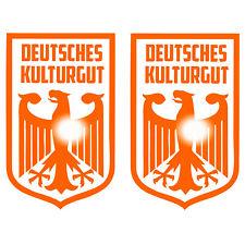 Deutsches Kulturgut Set GT V6 OEM Tuning Aufkleber Sticker Golf Auto Motorrad V8