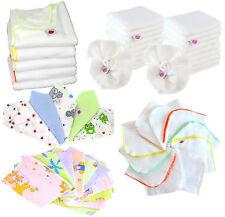Babymajawelt®Stoffwindel Paket XXL 50 Tlg Mullwindeln Spucktücher Molton Waschla
