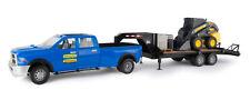 1/16th Big Farm NH RAM Quad Truck w/Flatbed Trailer and NH Skidesteer